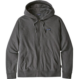 Patagonia P-6 Label LW Full Zip Hoody Herr forge grey